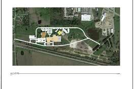Plans for a proposed new Waller County jail facility, including a new sheriff's office and court room.