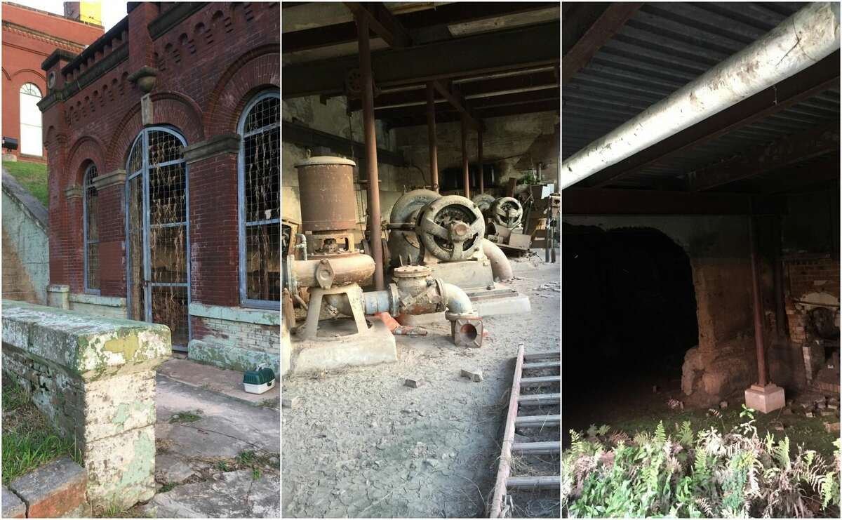 During a fishing trip this past weekend, one Reddit user stumbled upon a portion of Houston's Willow Street Pump Station that has yet to be redeveloped.