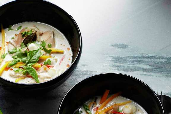 """Tom Kha Gai is featured in""""Martha Stewart's Slow Cooker: 110 Recipes for Flavorful, Foolproof Dishes."""" This recipe and more, page D5"""