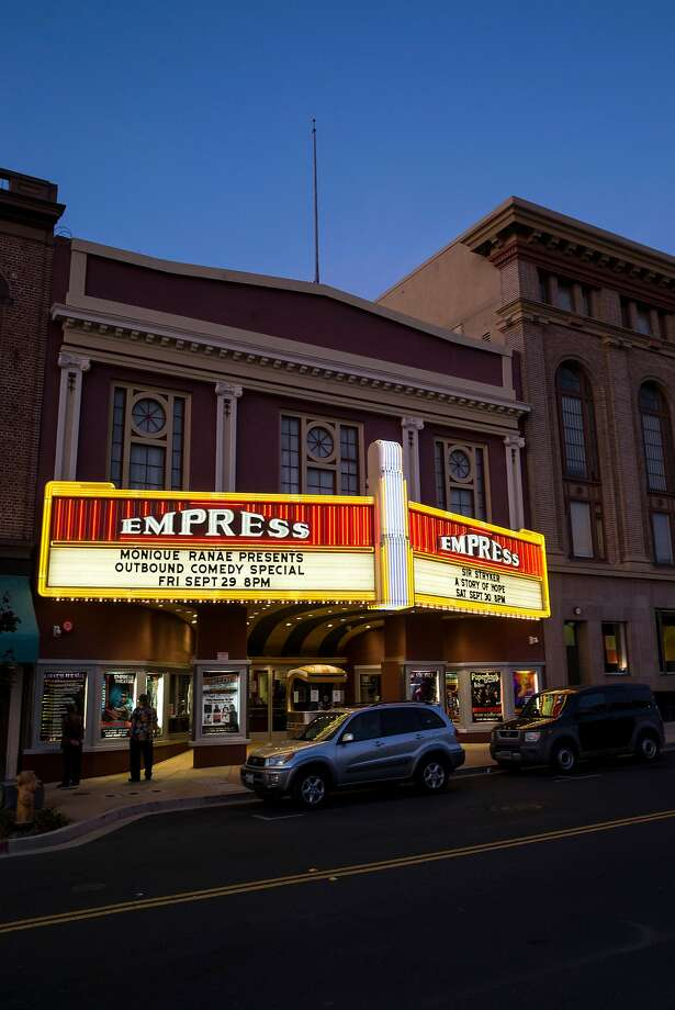 The Empress Theatre was built in 1911 and operates as a nonprofit that shows movies, hosts live performances and is rented for private events. Photo: Laura Morton, Special To The Chronicle
