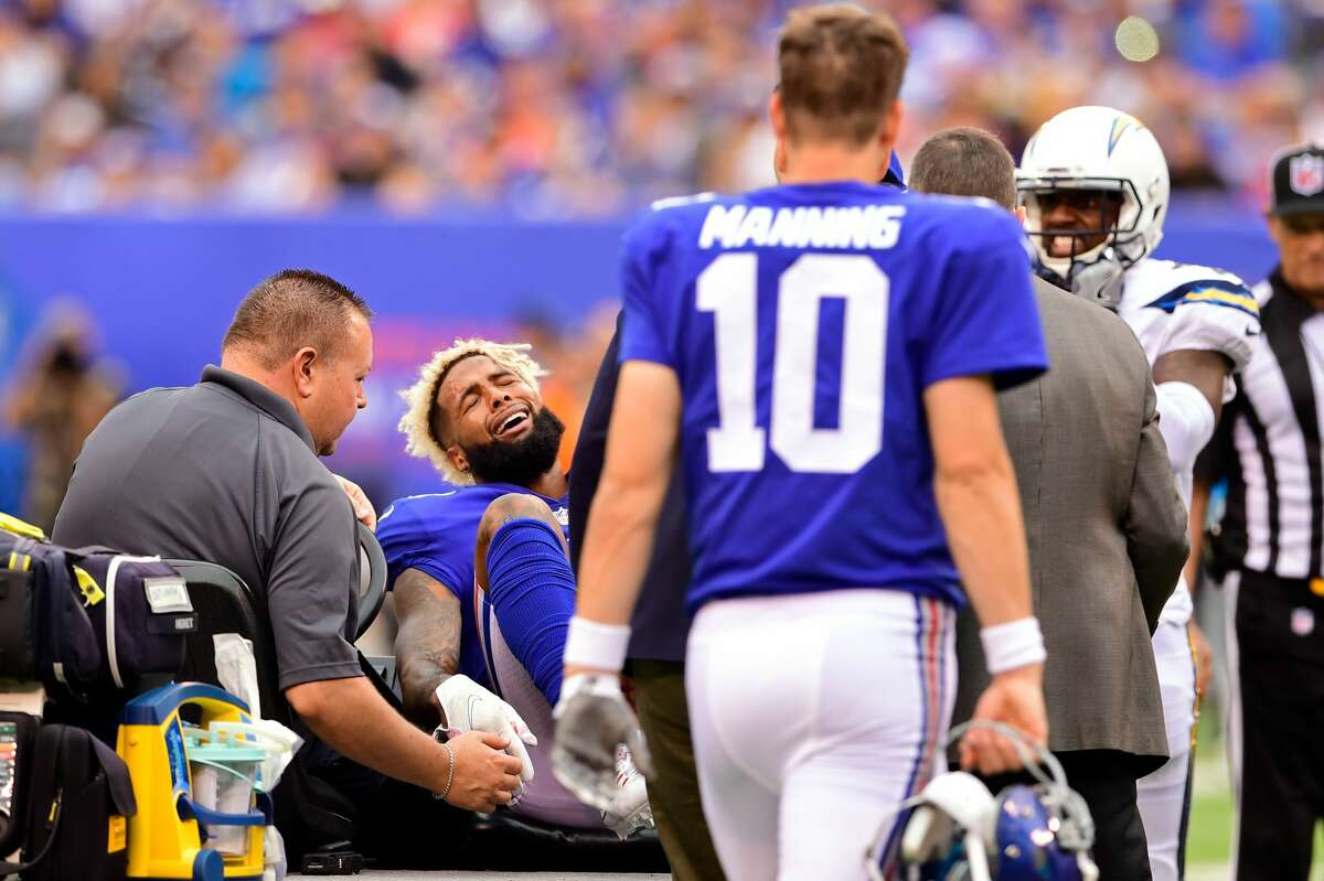 30. New York Giants (0-5)Previous: 27 With Odell Beckham Jr., the Giants offense was unwatchable. Now that he's been lost for the year with a broken ankle, it's... more unwatchable?