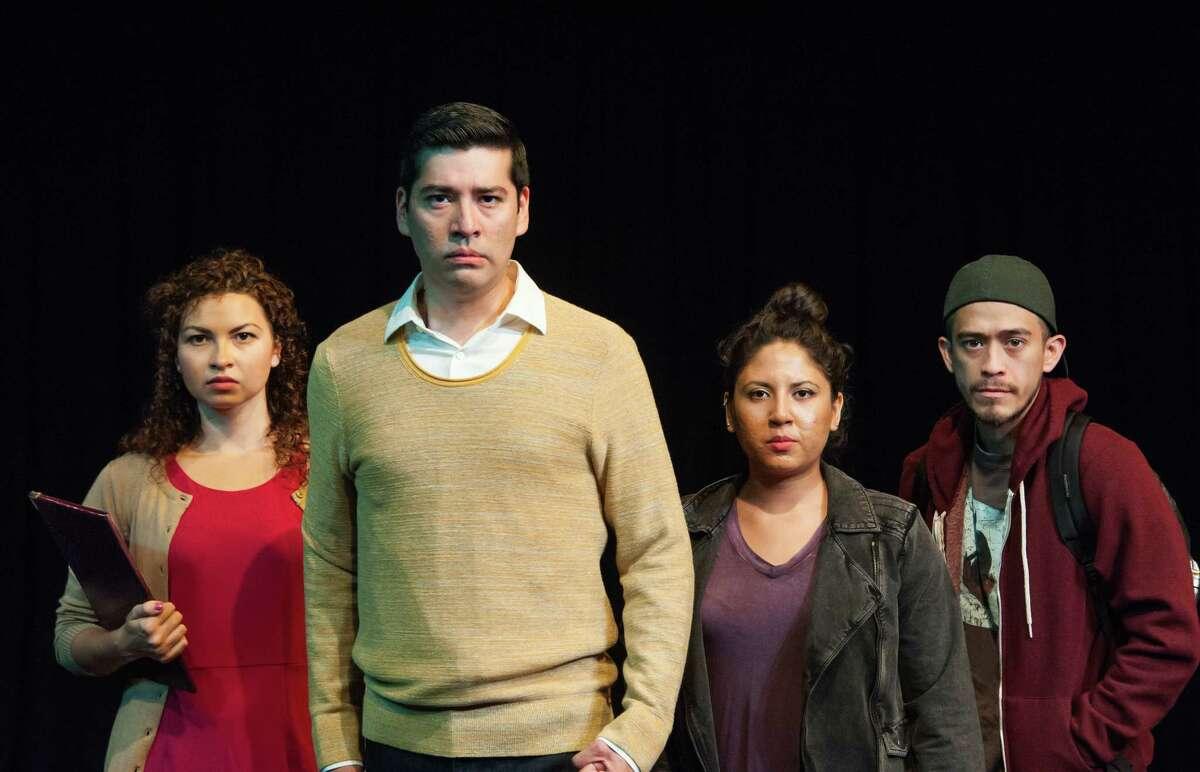 Maya Malan-Gonzalez, Ivan Jasso, Liz Magallanes, David Zaldévar in Cara Mia Theatre Co.'s