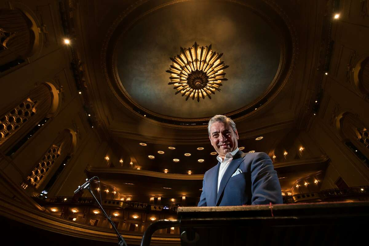 Music director of the San Francisco Opera Conductor Nicola Luisotti on Tuesday, Oct. 3, 2017 in San Francisco, CA.