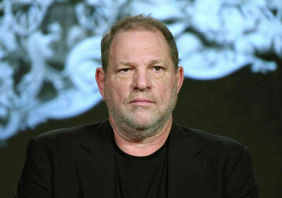 "FILE - In this Jan. 6, 2016 file photo, producer Harvey Weinstein participates in the ""War and Peace"" panel at the A&E 2016 Winter TCA in Pasadena, Calif. Weinstein has been fired from The Weinstein Co., effective immediately, following new information revealed regarding his conduct, the company's board of directors announced Sunday, Oct. 8, 2017. (Photo by Richard Shotwell/Invision/AP, File) Photo: Richard Shotwell, INVL / Richard Shotwell/Invision/AP"