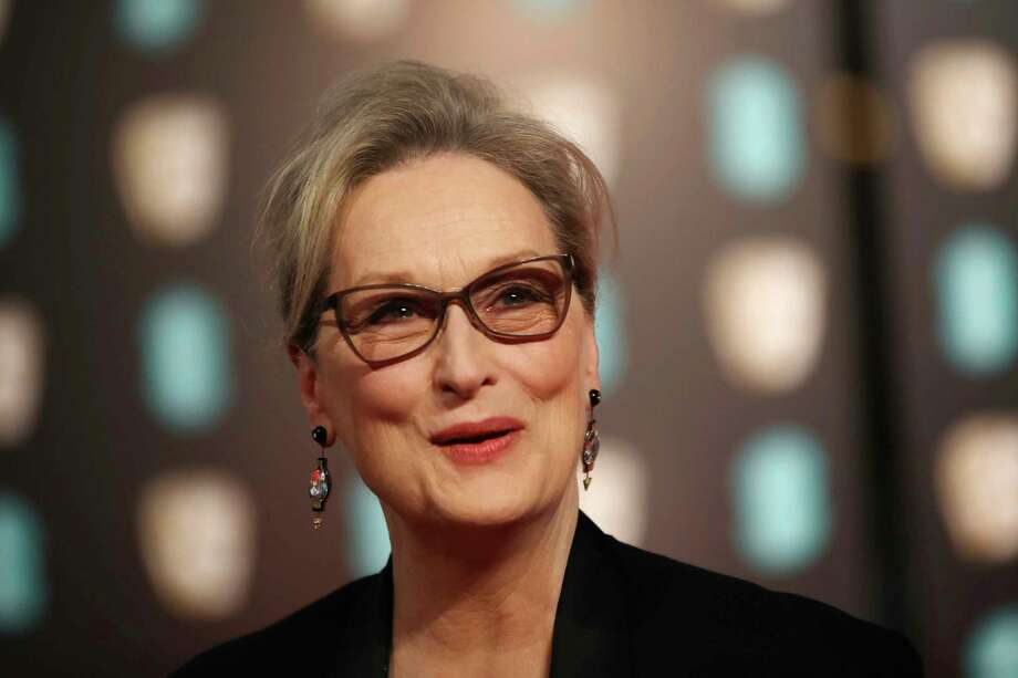 "FILE - In this Sunday, Feb. 12, 2017, file photo, actress Meryl Streep poses for photographers upon arrival at the British Academy Film Awards in London. Streep called the reports of sexual harassment against Harvey Weinstein ""disgraceful"" and said she was unaware of the alleged incidents, in a statement Monday, Oct. 9, to the Huffington Post. Streep said ""The behavior is inexcusable but the abuse of power familiar."" (Photo by Vianney Le Caer/Invision/AP, File) Photo: Vianney Le Caer, INVL / Invision"