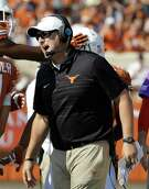 Oklahoma's Lincoln Riley, left, and Texas' Tom Herman give both sides of the rivalry first-year head coaches for the first time since 1947, when Bud Wilkinson and Blair Cherry were taking over the Sooners and Longhorns, respectively.