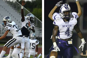 The West Orange-Stark Mustangs and the Newton Eagles remained in their No. 2 and No. 4 ranked positions, respectively, in this week's Texas AP High School Football poll, released Monday.