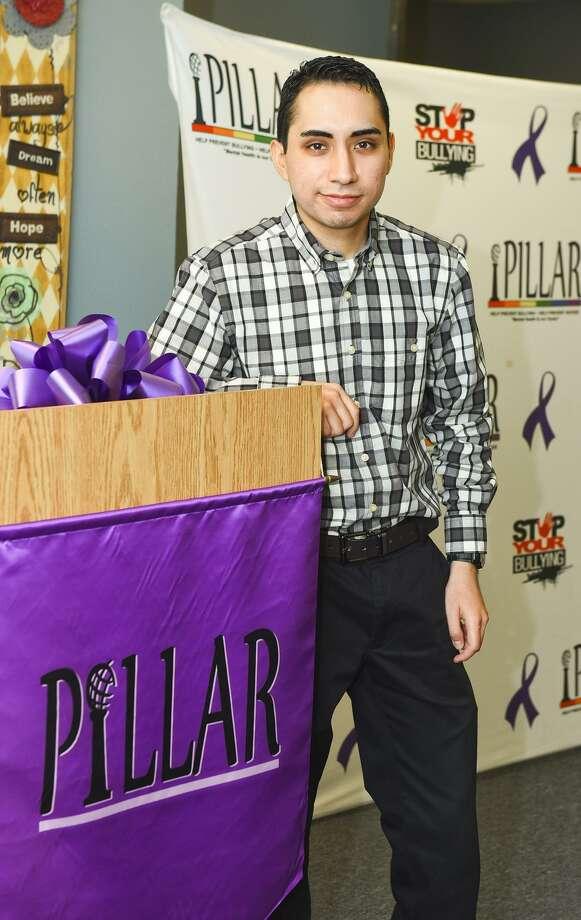 Arturo Diaz Junior poses for the United Way tab photo at PILLAR on Friday, June 23, 2017. Photo: Danny Zaragoza / LMT / Laredo Morning Times