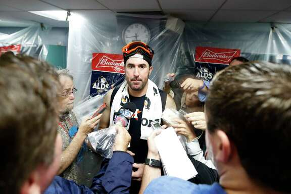 Astros pitcher Justin Verlander picked up a couple of victories in the ALDS against the Red Sox. He won Game 1 as a starter and Game 4 as reliever.
