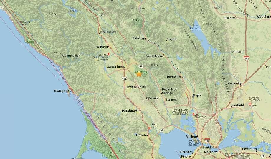 Magnitude 2 9 Earthquake Strikes Near Kenwood California Sfgate