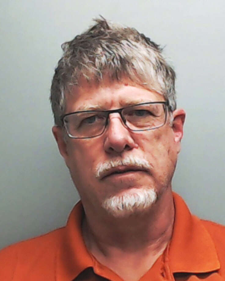Michael Hartley, 53, was booked into Hays County Jail on two counts of online solicitation of a minor.
