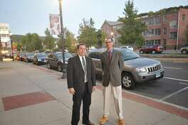 Jerry Martinez and John Cooney are running for the Board of Selectmen on the Winsted Independent Party ticket.