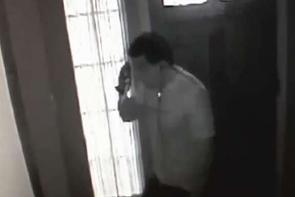 This suspect was caught on camera burglarizing a Sugar Land home on July 3, 2017. Police released the surveillance video on Oct. 9 in hopes of catching the suspect and an accomplice.