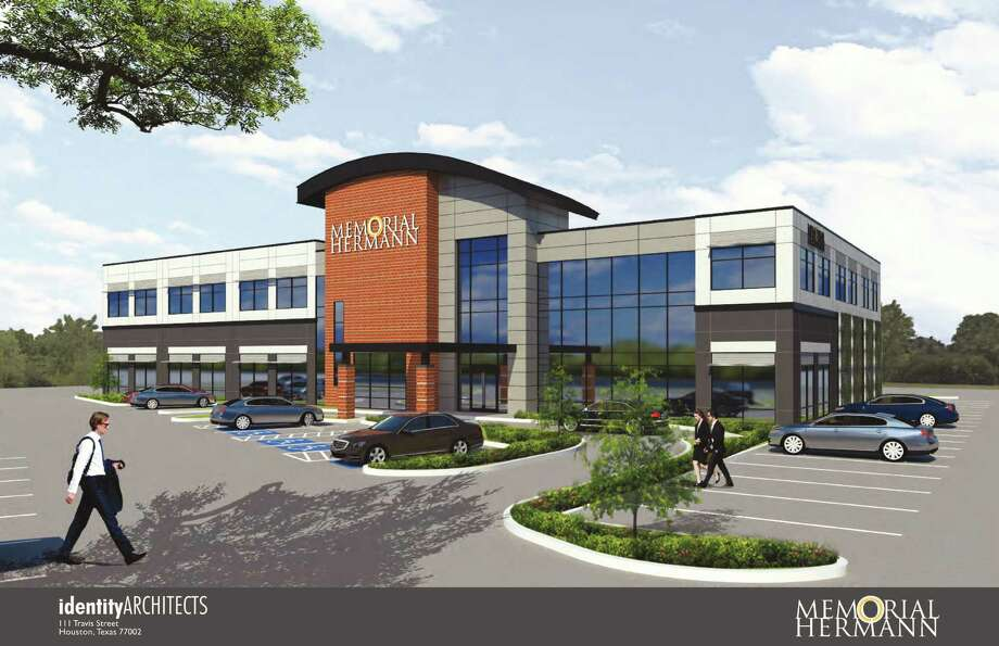 This is an artist's rendering of Memorial Hermann Convenient Care Center, at 1431 Studemont St. near Loop 610. Photo: Courtesy Of Memorial Hermann