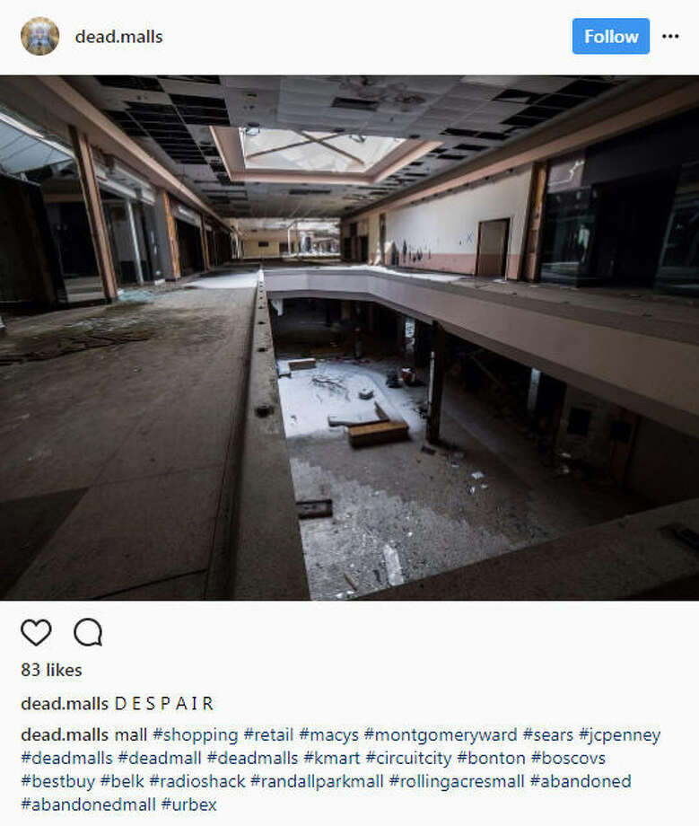 As online shopping continues to grow, some malls are becoming ghost towns and surreal for those who explore them.Image source: InstagramSee more photos of abandoned malls up ahead.  Photo: Instagram