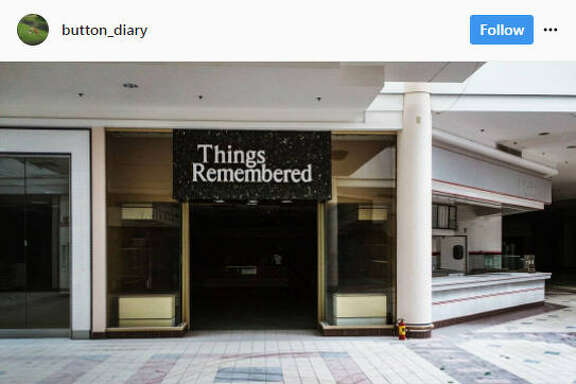 As online shopping continues to grow, some malls are becoming ghost towns and surreal for those who explore them.  Image source:  Instagram