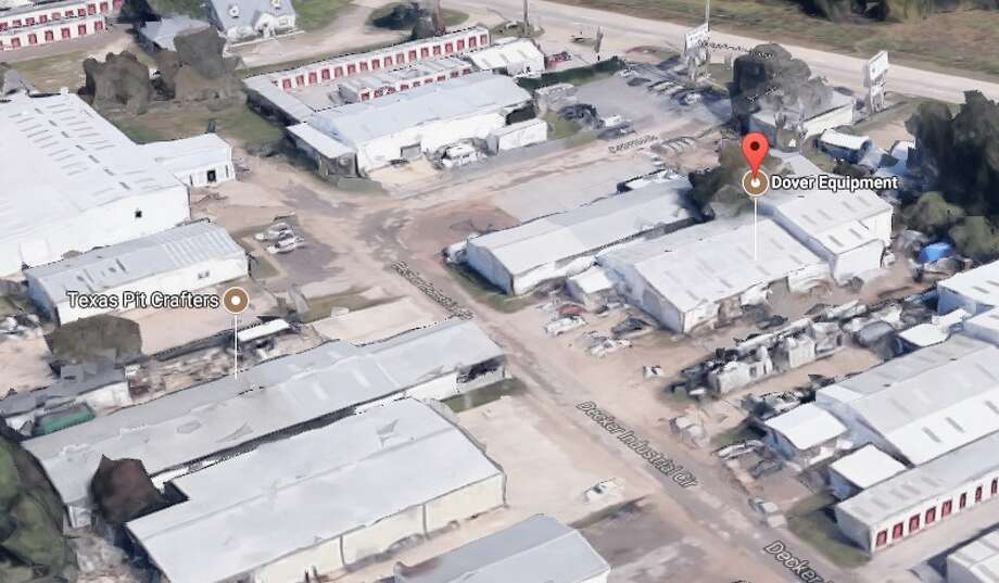 A 22-year-old man was on the roof of Dover MEI, located along Texas 249 south of Decker Prairie Road, when he broke through a skylight, falling roughly 20 feet to the ground below, according to reports. The man landed on his back but is reportedly conscious and breathing.  Photo: Google Maps