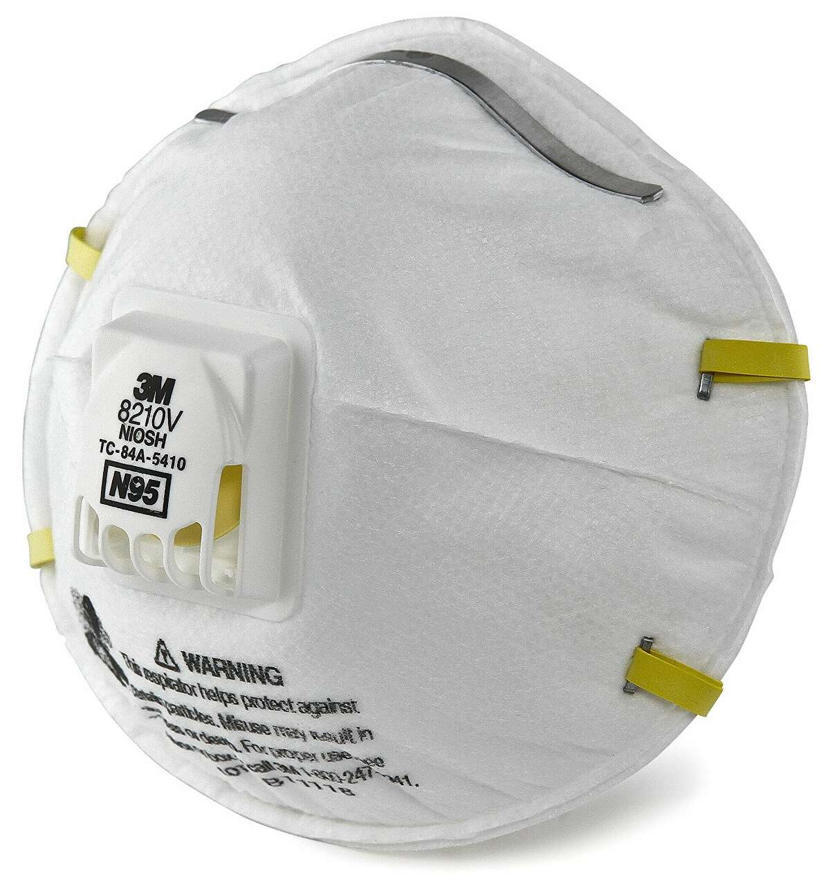 A particulate respirator like this one from 3M is recommended for filtering wildfire smoke. N95 is recommended for ease of breathing. Higher numbers like N100 or P100 that filter more are also fine, but may be harder to breathe through and more expensive.