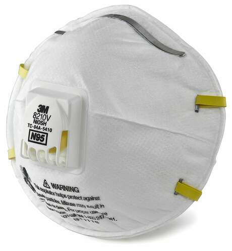 A particulate respirator like this one from 3M offered on Amazon is recommended for filtering wildfire smoke.