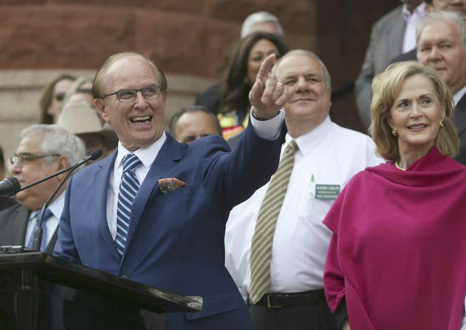 Bexar County Judge Nelson Wolff said the county did not want to spend the incentive funds needed to lure Amazon. Photo: William Luther /San Antonio Express-News / © 2017 San Antonio Express-News