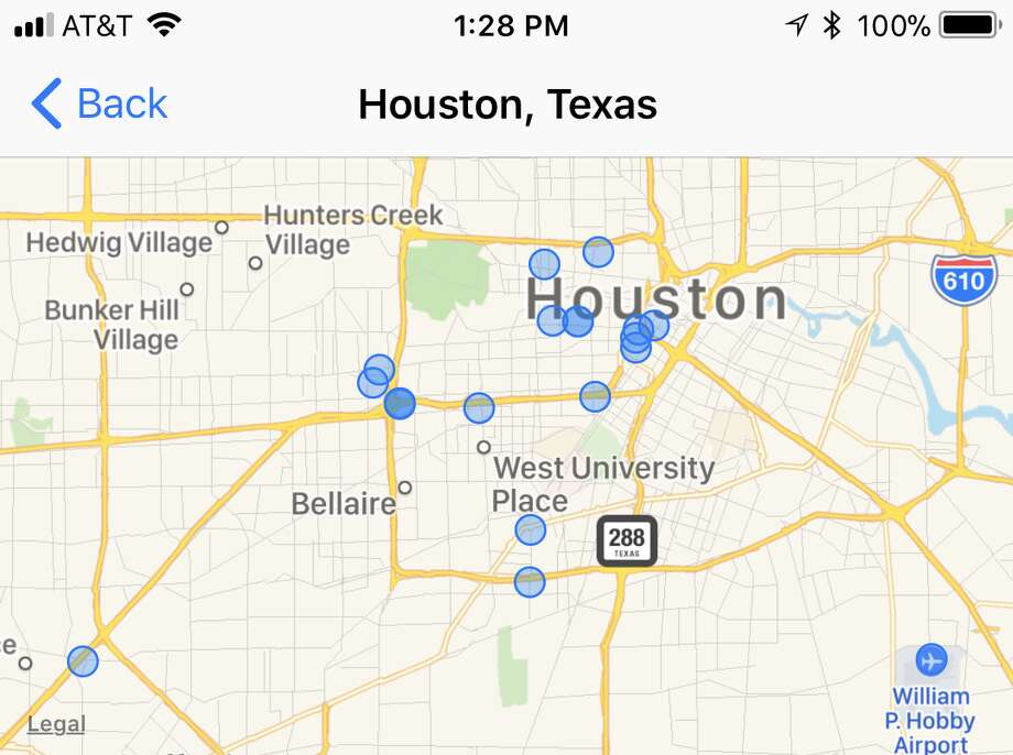 Your iPhone places frequent locations on a map. But don't worry, it's only stored on your phone.