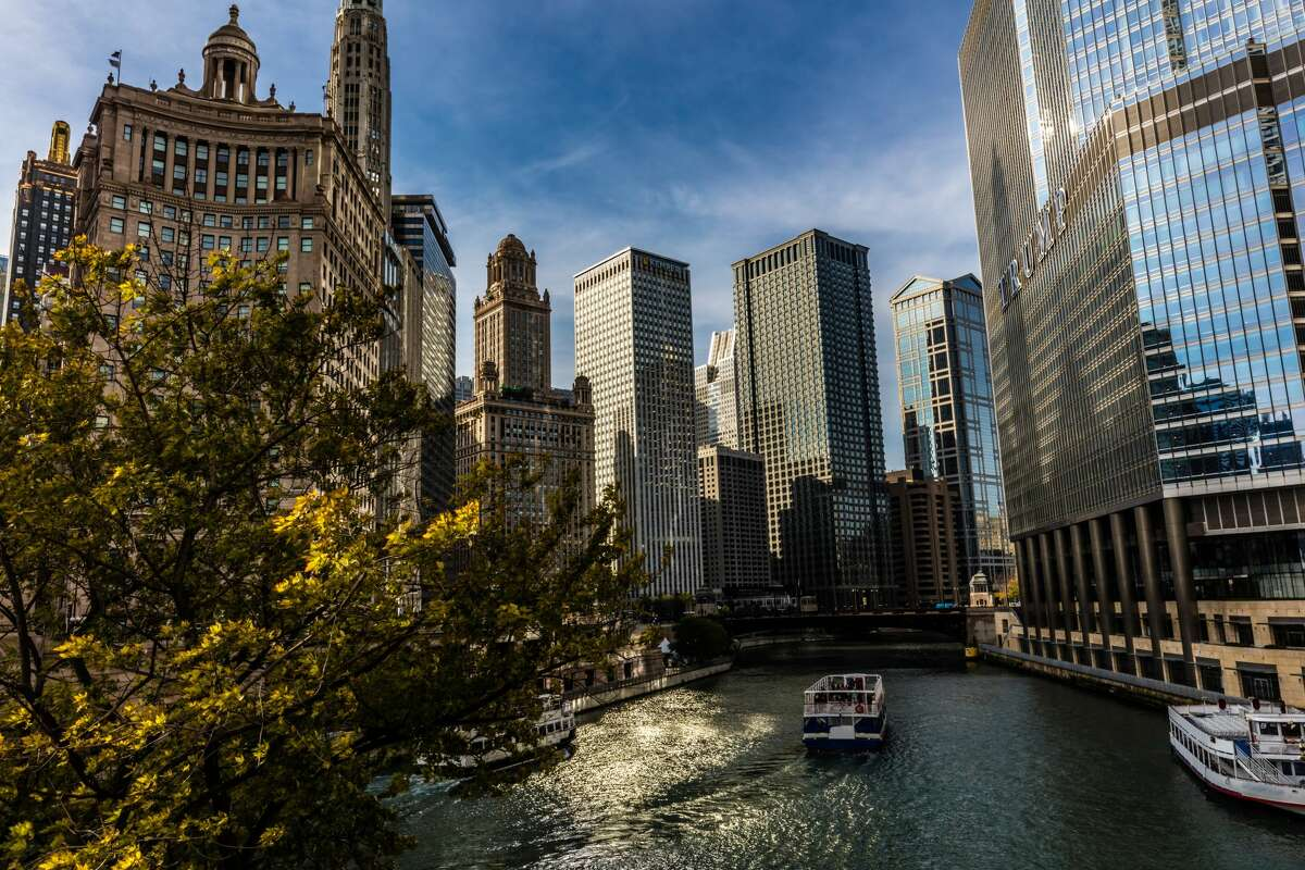 10. Chicago Median base pay, May 2018: $56,362Year-over-year change: 1.2 percent increase