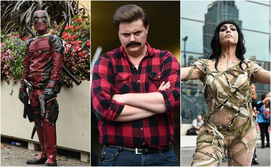 This past weekend, hundreds of cosplayers attended the  2017 New York Comic Con in the Big Apple to get the latest scoop on television, film and video games. See the best costumes spotted at the 2017 New York Comic Con.