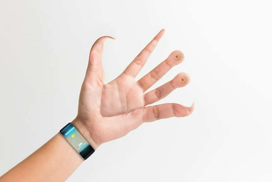 This concept image shows how the human hand would look if it were adapted for smartphone use. While it's fun to imagine these alien hand being attached to our bodies (or maybe not fun, as it would hamper other tasks), the likelihood that the human body will evolve to this is slim to none. Smartphones probably won't even exist by the time an evolution like this took place. Photo: Broadbandchoices.com