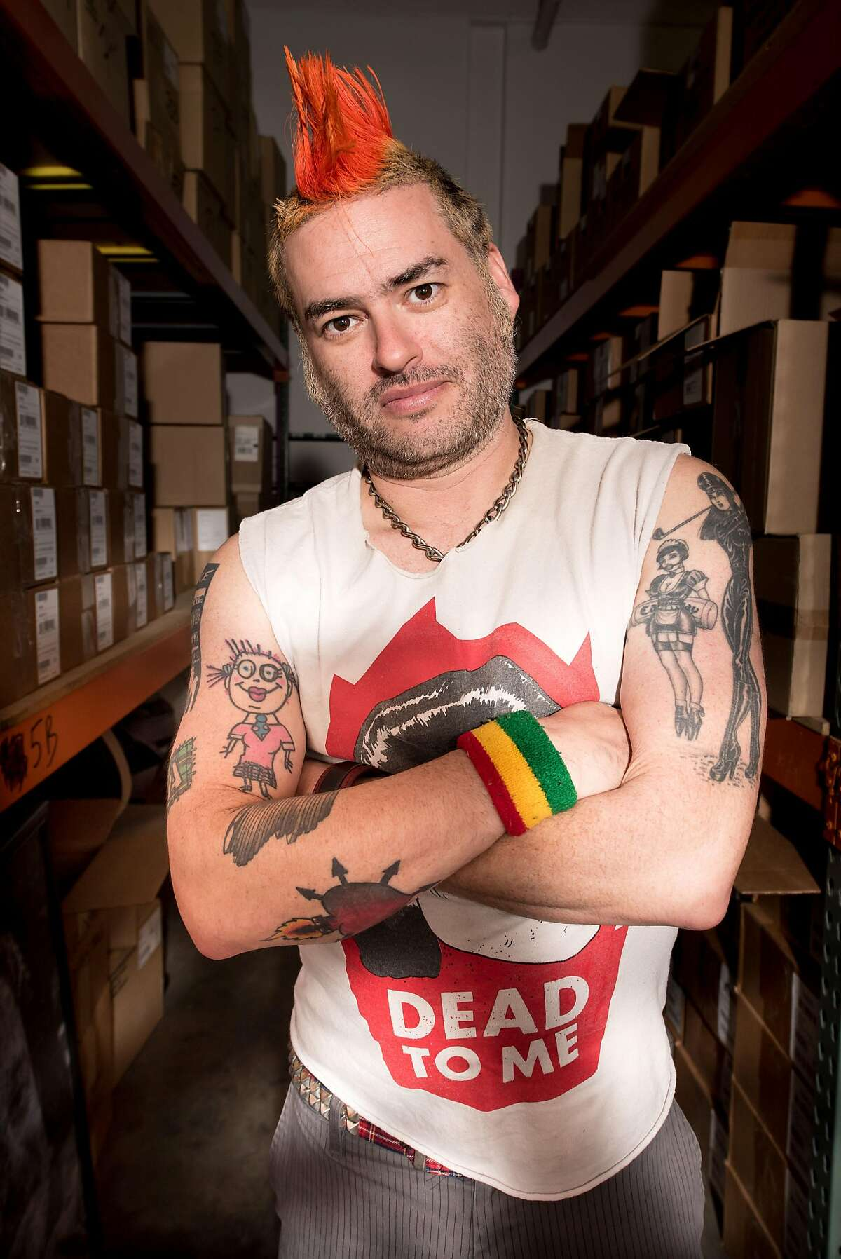 Fat Mike, frontman for NOFX, has collaborated with Stone Brewing for not only a�Punk in Drublic hoppy lager, but a Punk in Drublic traveling music and beer festival.