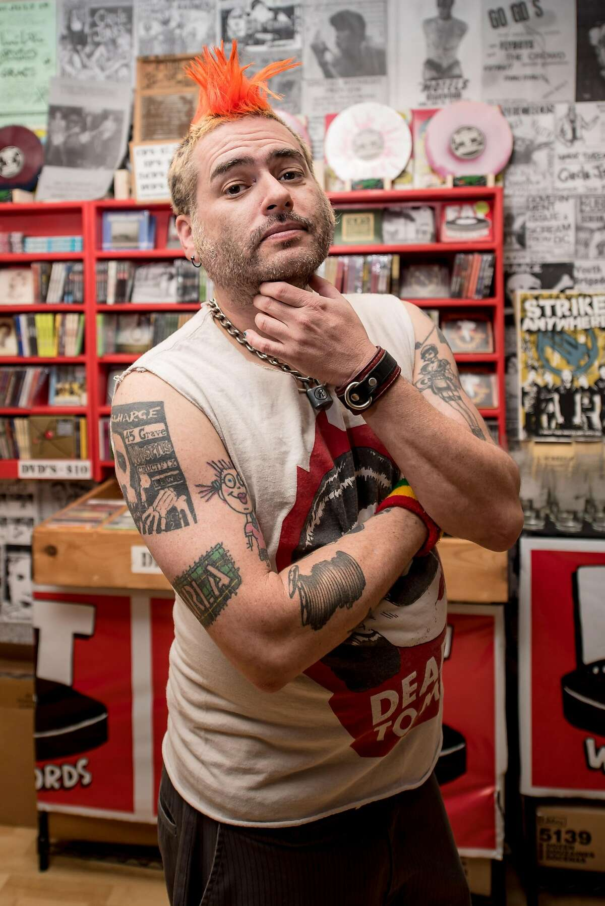 Fat Mike, frontman for NOFX, has collaborated with Stone Brewing for not only a Punk in Drublic hoppy lager, but a Punk in Drublic traveling music and beer festival.