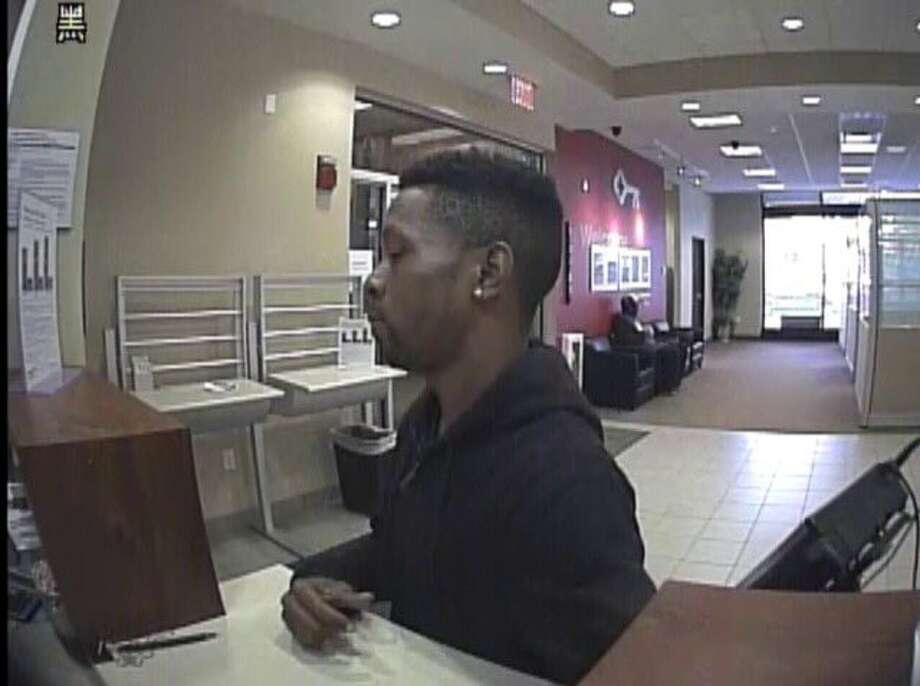 Albany police are looking for this man in connection to the Tuesday, Oct. 10, 2017 robbery ofKey Bank at 66 S. Pearl St. Anyone with information is asked to call the Albany detectives at 518-462-8039. Photo: Albany Police