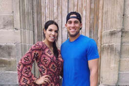 A photo from Charlise Castro's Facebook page. Castro and George Springer have a wedding planned for January 2018.