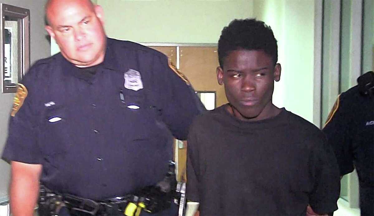 A screen grab shows Abdi Abdi, 18, in 2016, who was charged with capital murder in the death of 5-year-old Ana Garza, who was shot in the head while she slept in the front bedroom of her home in the 800 block of Pecan Valley in San Antonio.