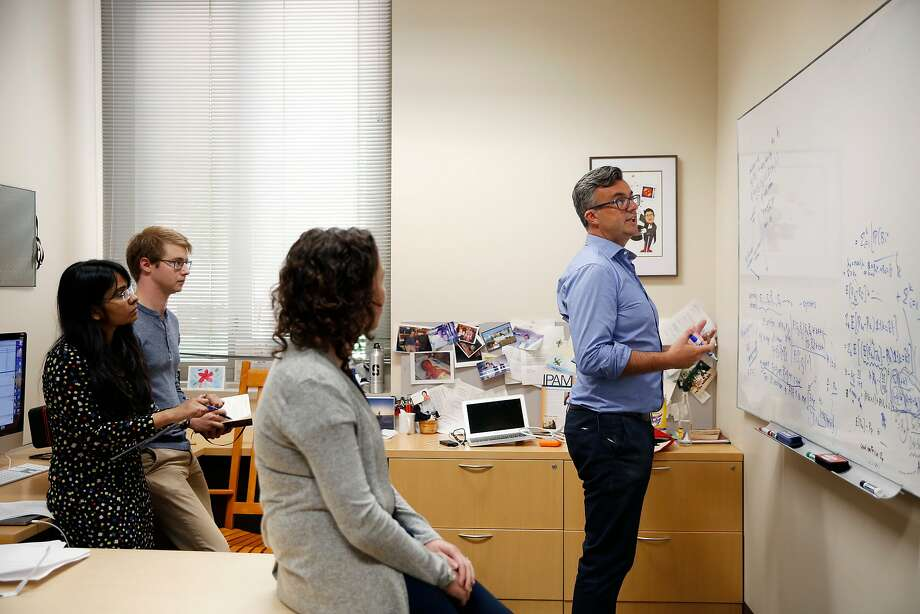 """Emmanuel Candes, a Stanford professor, developed an algorithm that earned him a $625,000 """"genuis grant."""" Photo: John D. And Catherine T. MacArthur Foundation"""