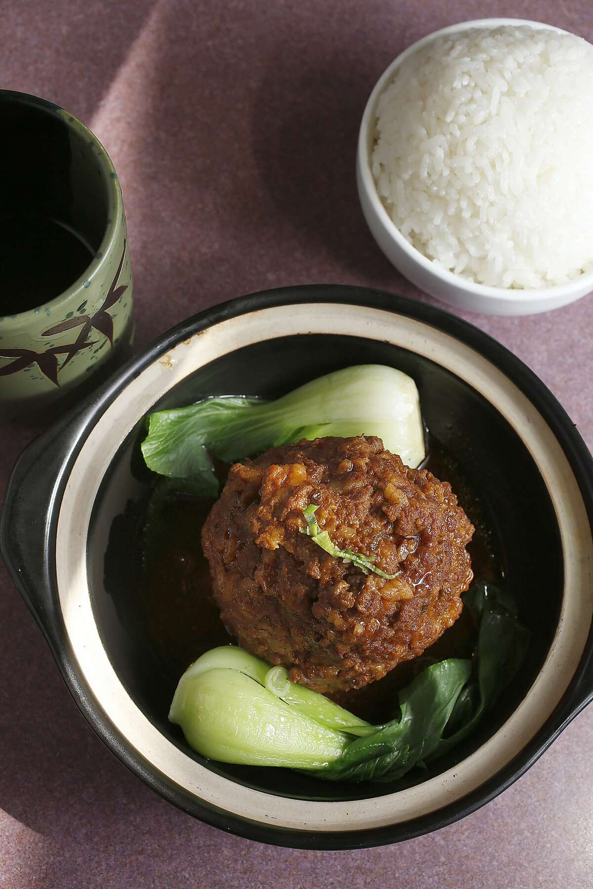 Homemade meatball at Jiangnan Cuisine on Friday, October 6, 2017, in San Francisco, Calif.