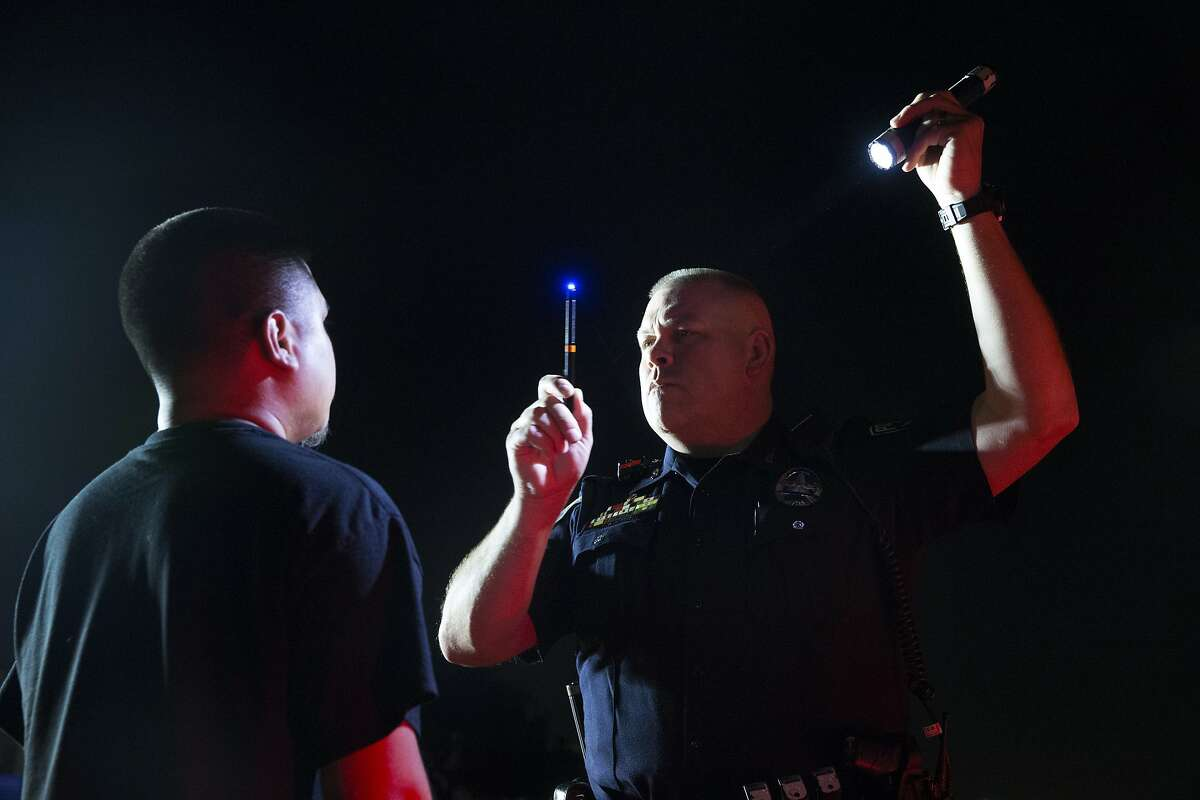 FILE PHOTO: Arrests in Midland for driving while intoxicated dropped in 2020 because of state-mandated bar closures. Now that bars are again open to full capacity, Midland Police Department officers have seen a rise in drunk driving incidents.