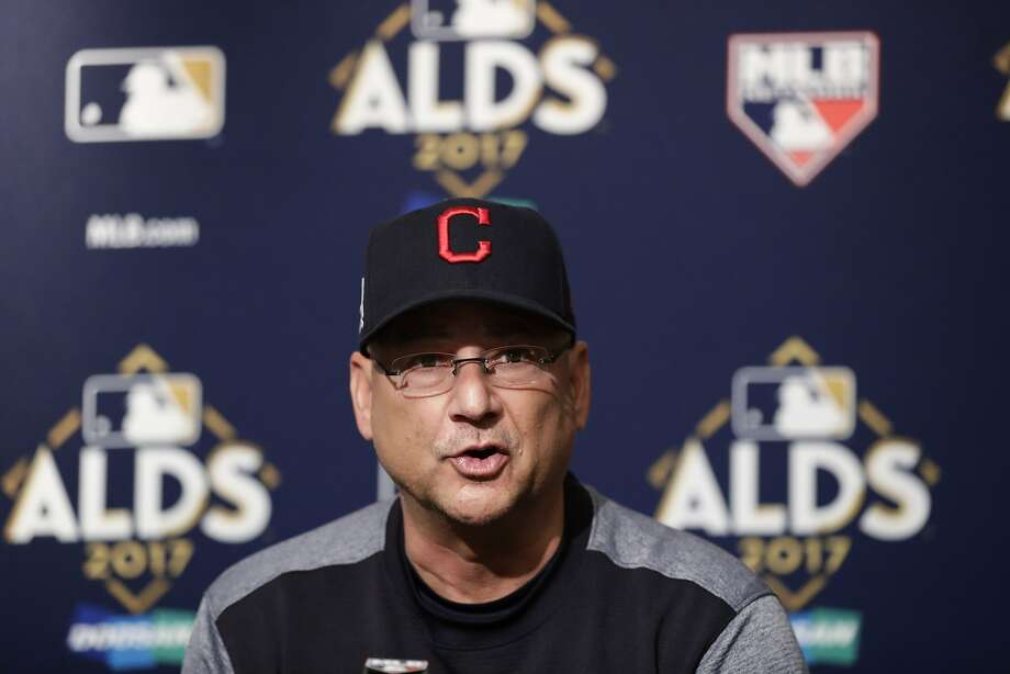 Cleveland manager Terry Francona kept the mood loose and light at his Tuesday news conference. Photo: Frank Franklin II, Associated Press