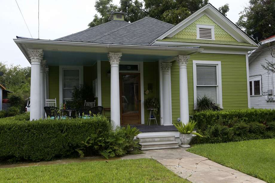 This Restored Home On The 100 Block Of Delaware In The Lavaca Historic  District Just South