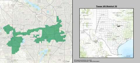 Map Of Texas 30th District.Ranking Texas Most Gerrymandered Districts Houston Chronicle