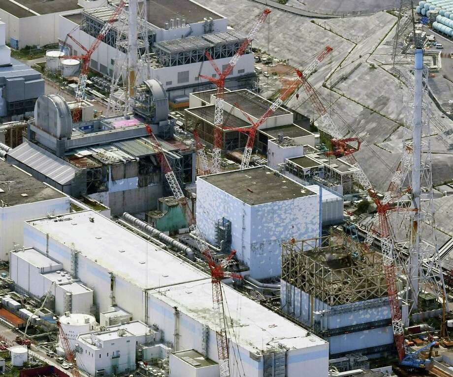 Fukushima nuclear power plant reactors are seen in this September photo. A ruling Tuesday held the government accountable in the 2011 Fukushima meltdowns, increasing hopes for other pending cases.  Photo: Daisuke Suzuki, SUB / Kyodo News
