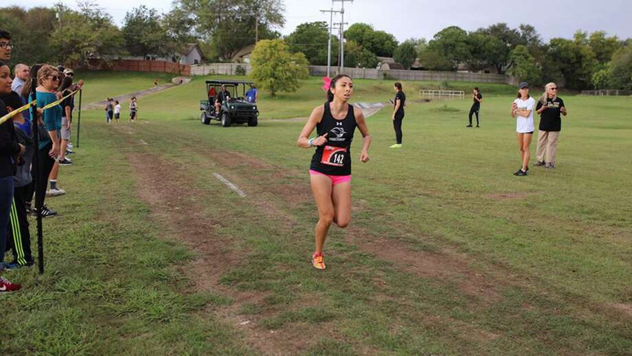 Texas A&M International's Rebekah Hernandez was named the Heartland Conference Women's Runner of the Week on Tuesday. Photo: Courtesy Of TAMIU Athletics