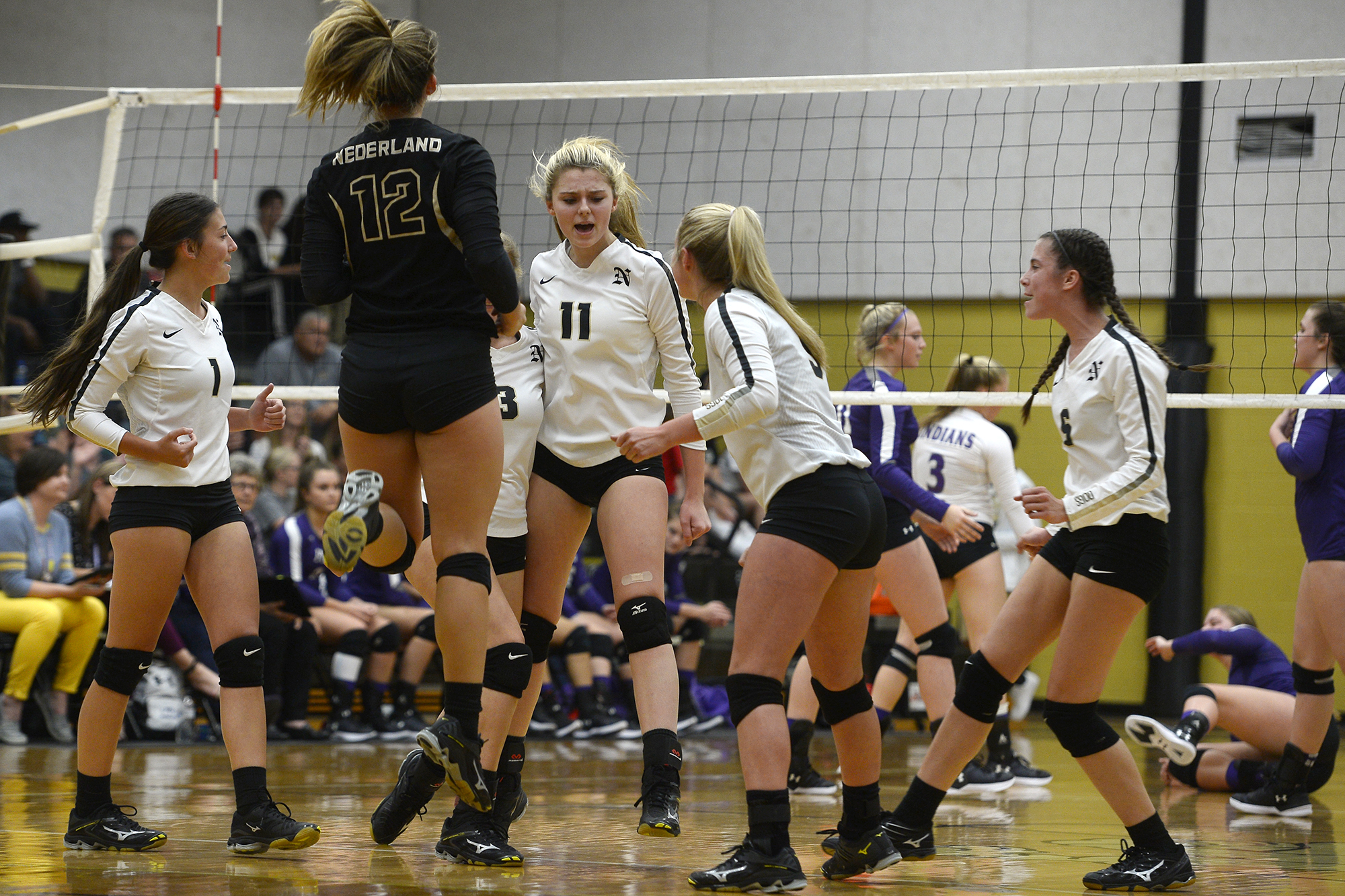 high school volleyball  playoff races taking shape