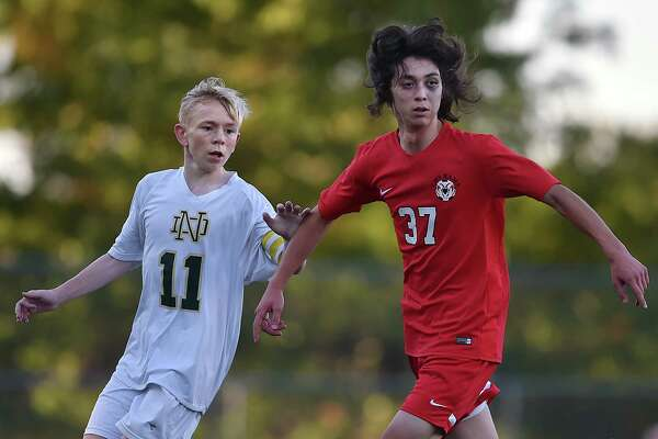Cheshire defeated Notre Dame-West Haven, 2-1, Tuesday, Oct. 10, 2017, at Veterans Stadium in New Haven.