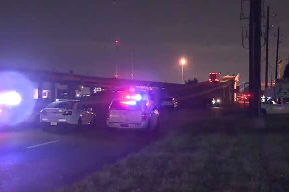 A man was killed early Wednesday after being fatally struck by a car along Texas 249. (Metro Video)
