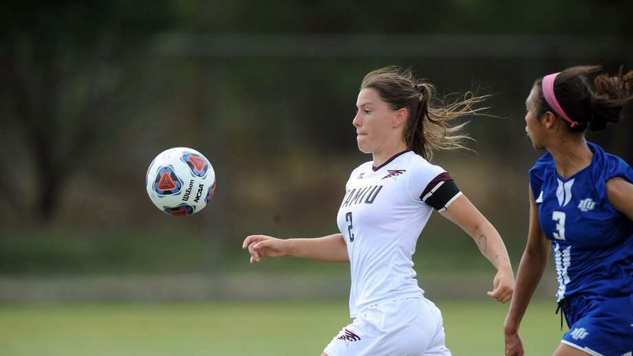 Dustdevils forward Cio Bargallo won the Heartland Conference Player of the Week award for a record third time this season. The sophomore is second in the nation with 13 goals in 2017, a new season record at TAMIU. Photo: Courtesy Of TAMIU Athletics, File