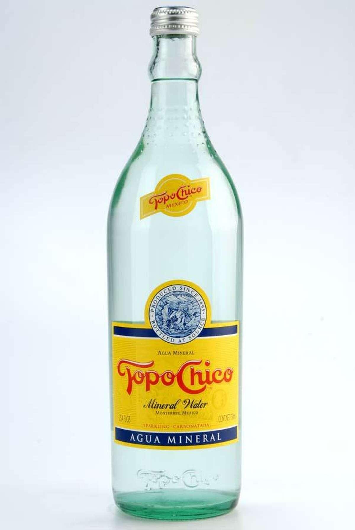 Topo Chico is bottled in Monterrey, Mexico.