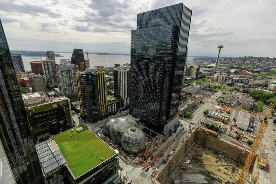 Ron Nirenberg and Bexar County Judge Nelson Wolff told Amazon CEO Jeff Bezos in a letter sent Thursday they weren't willing to pony up tax incentives to lure the $484 billion company and its second headquarters. Photo: Jordan Stead /Amazon /TNS / Seattle Times