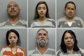Click through the following gallery to see 25 mugshots of people arrested on drunk driving charges in Laredo during Sept. 2017.