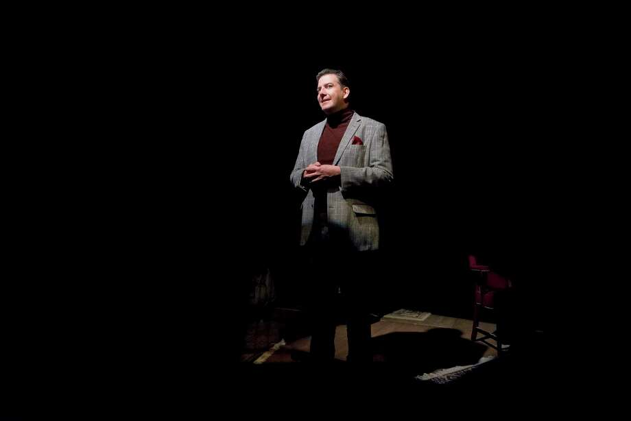 """Sean Patrick Judge stars in  """"Evening at the Talk House"""" at the Catastrophic Theatre. Photo: Courtesy Catastrophic Theatre, Photographer / Anthony Rathbun Photography"""