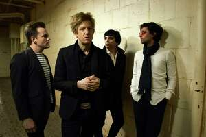 Spoon is scheduled to perform at the Greek Theatre in Berkeley.